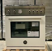Bertazzoni Professional Series Prof304gasbit 30 Gas Range With 4 Brass Burners