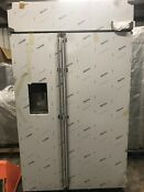 Ge Monogram Ziss480dkss 48 Built In Counter Depth Side By Side Refrigerator