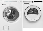 Asko W8844xlw T411vdw Logic 24 Front Load Washer Vented Electric Dryer