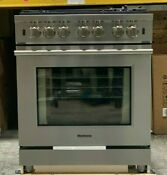 Blomberg Bgrp34520ss 30 Inch Pro Gas Range With Convection Oven Self Cleaning