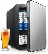 Mini Fridge With Cooler And Warmer 4 Liter Large Capacity Portable Newblack