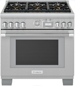 Thermador Prd366wgu Pro Grand Pro Series 36 Inch Pro Style Dual Fuel Range