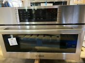 Bosch Hmc80252uc 30 Inch Speed Oven With 1 6 Cu Ft Capacity 2 In 1 Microwave