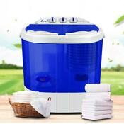 Mini 10 4lbs Compact Portable Washer Dryer With Mini Washing Machine And Spin