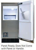 Sub Zero Uc15i 15 Inch Built In Indoor Panel Ready Clear Ice Machine