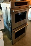 27 Stainless Thermador Double Wall Oven Model Sc272zp 01 Used Pick Up Only