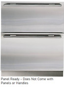 Sub Zero 700bfi 27 Inch Built In Double Drawer Freezer With Ice Panel Ready