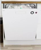 Asko Xl Series D5434xlw Full Console Dishwasher In White 14 Place Settings