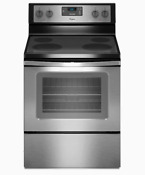 Whirlpool Wfe320m0es 4 8 Cu Ft Freestanding Electric Range Oven