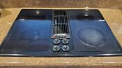 Jenn Air 30 Electric Downdraft Cooktop With Grill Kitjed8230adb