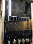 Sears Kenmore Elite Electric Glass Downdraft Cooktop Stovetop Free Shipping