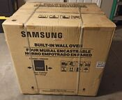 Samsung Flex Duo 30 In Electric Wall Oven Model Nv51k7770sg Brand New