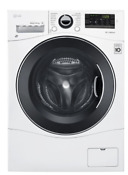 Lg Wm3488hw 2 3 Cu Ft White Compact All In One Front Load Washer Dryer