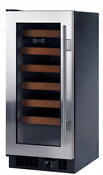 Sub Zero 315w S Th Lh 15 Inch Built In Wine Storage With 26 Bottle Capacity