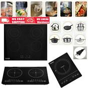 1 2 4 Burner Electric Cooktop Stove Touch Control Worktop Electric Ceramic Hob