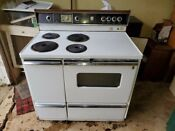Vintage Ge Electric Stove With Oven