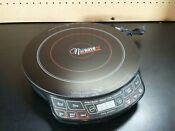 Nuwave Precision Induction Cooktop 2 Model 30151aq Appliance Tested Works