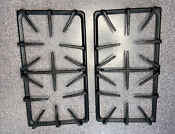 Oem Ge Cast Iron Burner Grate Wb32x10062 Downdraft Gas Cooktop Right Left