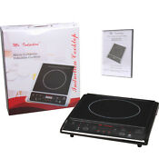 Portable Induction Cooktop Freestanding Single Burner Stove Cook Top Range