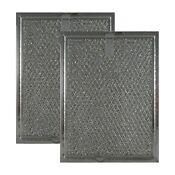 2 Pack Compatible Frigidaire Grease Oven Vent Microwave Filters 6 X 8