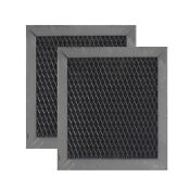 Whirlpool 8206230a Compatible Microwave Hood Charcoal Filter Replacement 2 Pack