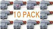 10 Pack 131763202 Washer Door Lock Switch Assembly For Frigidaire 131763256