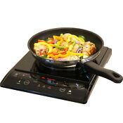 Portable Induction Cooktop Countertop Single Burner Stove Top Electric Cooker