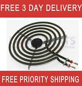 Electric Range Cooktop Stove 8 Large Surface Burner Heating Element Htea005