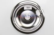 Dacor Stove Range Cooktop 8 Burner Chrome Drip Pan Bowl 82054