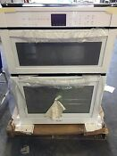 New Whirlpool 30 Microwave Combination Wall Oven White Model Woc54ec0aw02
