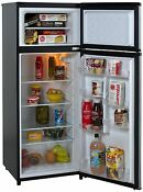 Avanti Ra7316pst Energy Star Rated 2 Door Apartment Size Black Refrigerator