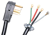Dryer Cord 4 Wire Certified Appliance Replacement Part In Black 10 Feet 902028