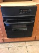 Ge Jrp20bjbb 24 Inch Single Electric Wall Oven Free Shipping