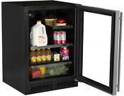 Marvel Ml24brg2rs 24 Built In Beverage Center Glass And Stainless W Right Hinge