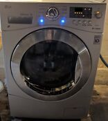 Lg Wm3477hs Gray All In One Washing Machine Slightly Used Large Capacity