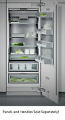 Gaggenau Rc472701 30 Vario 400 Series Built In Panel Ready Refrigerator Column