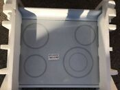 Ge Glass Cook Top White Wb62 T10190 Free Shipping