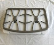 Set Of 2 Ge Range Stove Oven Burner Grate Wb31x10003 Grey Brand New