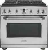 General Electric Monogram Zdp366npss 36 Inch Pro Style Dual Fuel Range