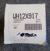 Wh12x917 New Ge Washing Machine Timer