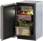 U Line 3018rfs01 18 Stainless Freestanding Counter Depth All Refrigerator Lh