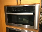 Miele Contourline Directselect Series H6100bm 24 Inch Speed Oven Free Shipping