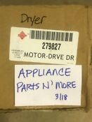 Whirlpool Electric Dryer Motor 279827 New Other Free Shipping