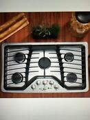 Nib Ge Profile Pgp976setss 36 In Gas Cooktop Stainless Steel