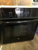 Ge 27 Black Single Wall Oven Convention