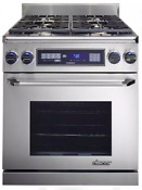 Dacor Renaissance 30 Stainless Steel Pro Style Dual Fuel Range Er30dsrschng