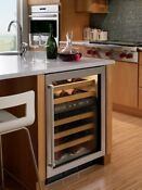 Sub Zero 424g S Ph Rh 24 Built In Undercounter Dual Zone Wine Cooler Stainless