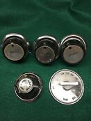 Vintage Tappan Gas Stove Oven Knob Lot Of 5