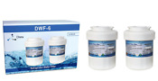 Ge Mwf Smartwater Compatible Replacement Refrigerator Water Filter Gwf 2 Pack