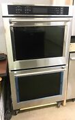 Kitchenaid Stainless Steel Double Door Wall Convection Oven Kode500ess